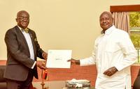 Museveni receives message from Ghana leader Nana Akufo Addo
