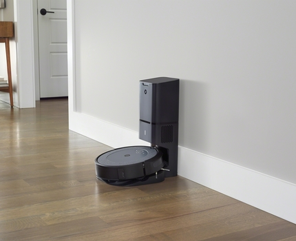 The Roomba i3+ is a more affordable self-emptying robot vacuum