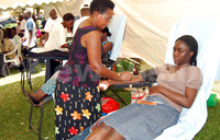 Volunteerism will give us enough blood - Byabazaire