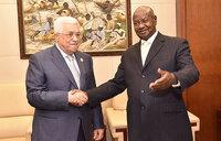 Museveni, Palestine leader Abbas hold talks