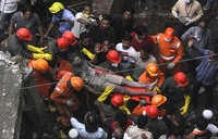 Rescuers call off search for victims in India building collapse