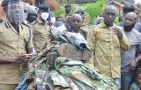 Buchaman surrenders military-style attire