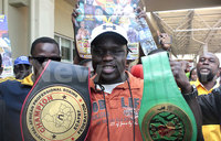 Boxer Daku upbeat ahead of fight