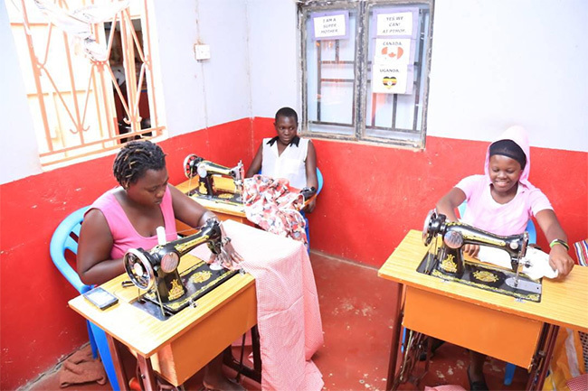 eenage others practicing tailoring
