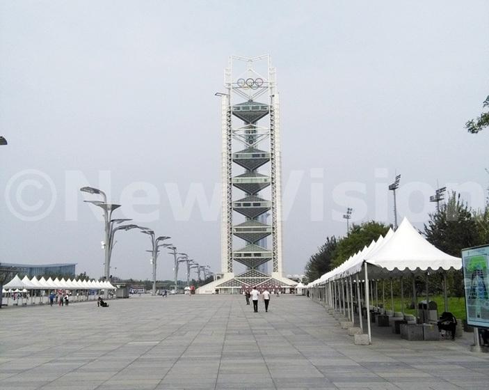 he aralympics towers