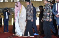 Saudi king urges fight against terrorism on Indonesia trip