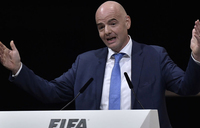 FIFA finances 'extremely solid' - Infantino