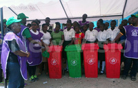 University students clean Ndejje town
