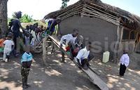 Parents build school for their children