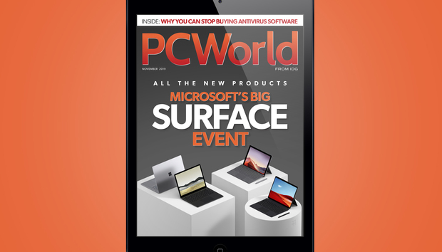 PCWorld's November Digital Magazine: Microsoft's big Surface event