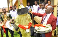 Bee keepers up in arms over locust pesticides