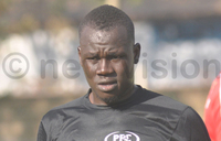 KCCA FC boosted by Gift Ali return