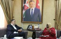 Mukwaya visits Jordan to assess working conditions of Ugandans