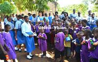 Rubaga Girls take Easter joy to Kamuli school