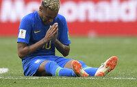 Brazil's Neymar 'entitled to feel upset'
