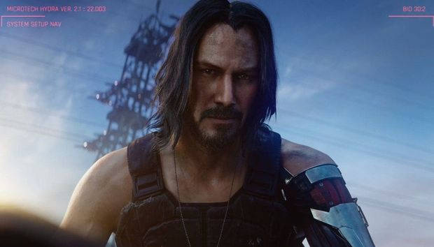 Cyberpunk 2077's latest mind-blowing demo haunts you with the ghost of Keanu Reeves