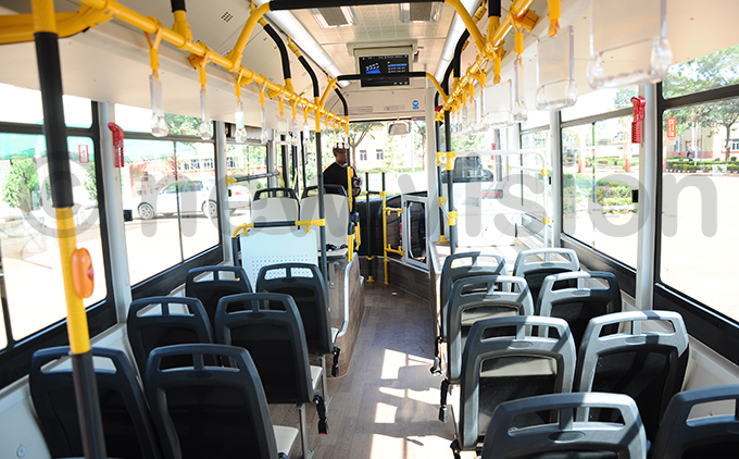 he interior of the buses hoto by bbey amadhan