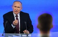 Putin orders government to probe plane crash
