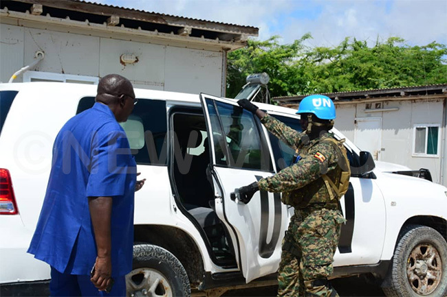 inister ngola uses a bullet proof vehicle