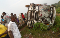 One dead, 80 pupils injured in Iganga accident