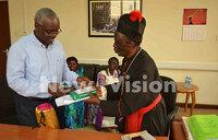 Canon Ddungu hails Vision Group's professionalism