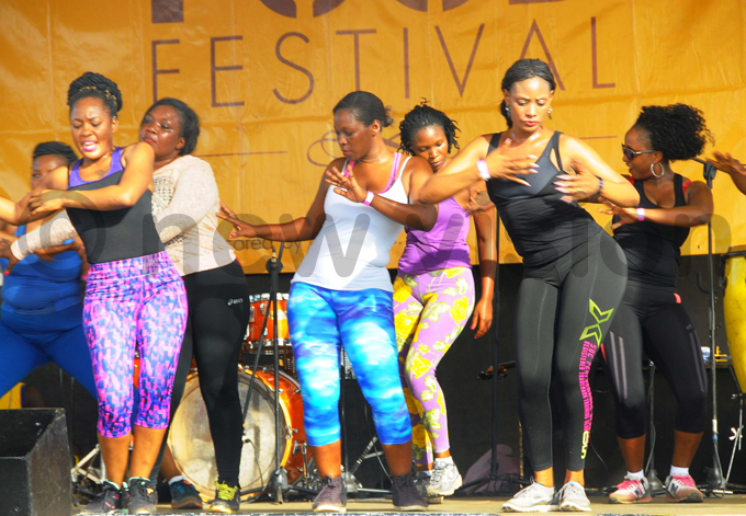 umba dancers put on a show at the festival hoto by icholas neal