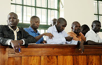 Treason suspects' fate for May 30