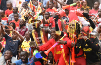 Uganda Cranes games are always a party for fans