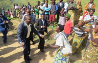 Finance Minister Bahati tips locals on saving with SACCOS