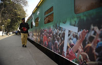 Christmas train to spread tolerance in Pakistan