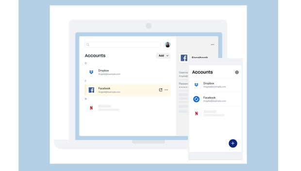 Dropbox catches up with a password vault, folder backup, and a family plan