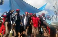 Bukomansimbi Police disperse People Power supporters