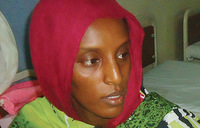 Freed woman arrested trying to leave Sudan