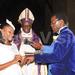 Bishop Luwalira walks daughter down the aisle