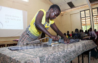 Visually-impaired children get skills