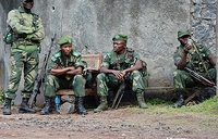 Congo says hunting rebels deep into mountain bases