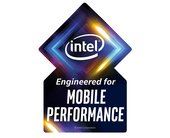 Intel will bless Project Athena laptops with an 'Engineered for Mobile Performance' graphic