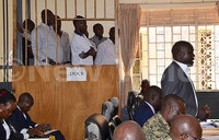 Army court releases three police officers on bail