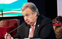 UN chief meets N.Z. mosque victims, decries online hate