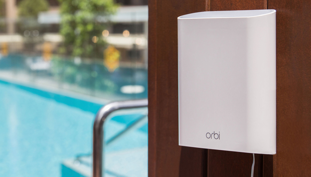 Netgear Orbi Outdoor Satellite review: Great range, but only so-so