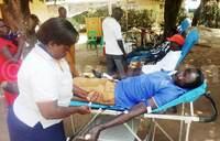 Etop starts blood donation drive in Soroti