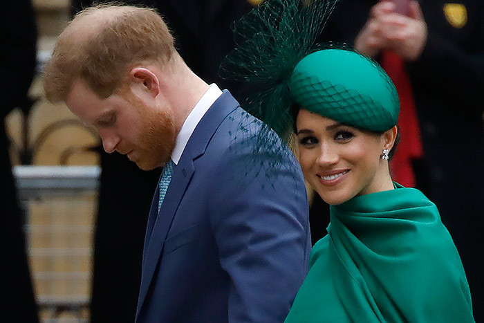 n this file photo ritains rince arry uke of ussex  and eghan uchess of ussex arrive to attend the annual ommonwealth ervice at estminster bbey in ondon on arch 09 2020  resident onald rump said arch 29 2020 that the nited tates would not pay security costs for rince arry and his wife eghan appearing to confirm that the royal couple have moved to live in aliforniahey reportedly flew by private jet from anada to os ngeles before the border between the two countries closed because of the deadly coronavirus outbreak hoto by olga