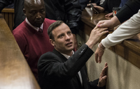 Pistorius in prison single room cell