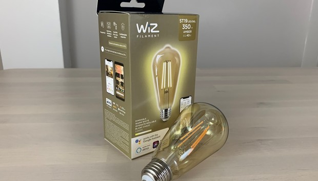 WiZ Connected ST19 Filament Dimmable bulb review: This vintage Wi-Fi bulb is well suited for accent lighting
