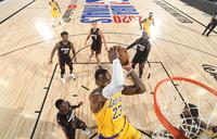 Lakers power past Heat in NBA Finals opener