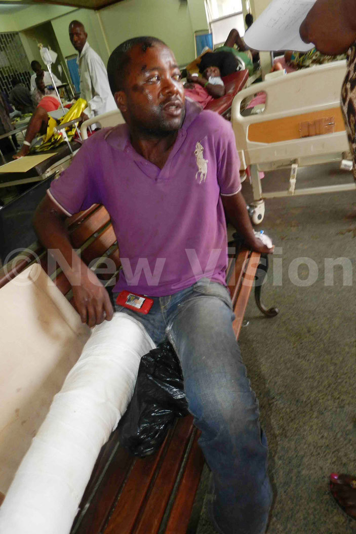 llan jampa was knocked down at ajjansi  he is admitted at ulago hospital