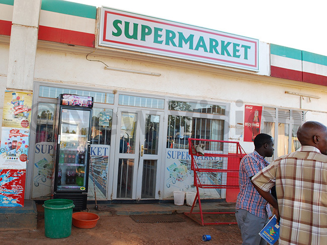 akulabye upermarket which was broken into and robbed by armed thugs hoto by ndrew usinguzi