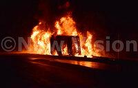 Seven critically injured in Mpigi fuel tanker explosion