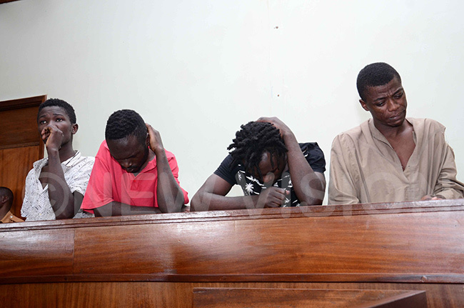agirinyas suspected murderers appear in court recently