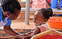 Immunisation week in pictures